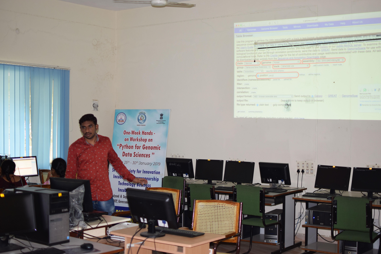 Python For Genomics Workshop Students & Team